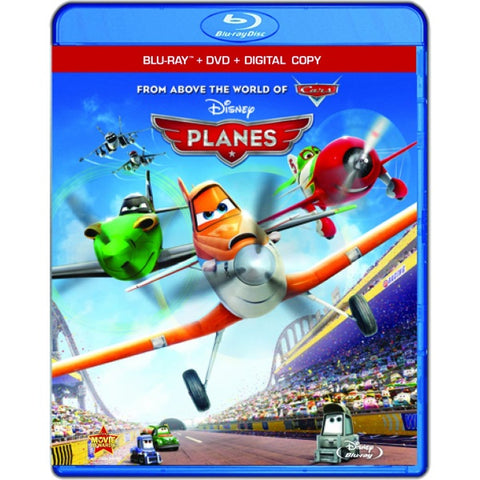 Disney's Planes [Blu-Ray + DVD + Digital]