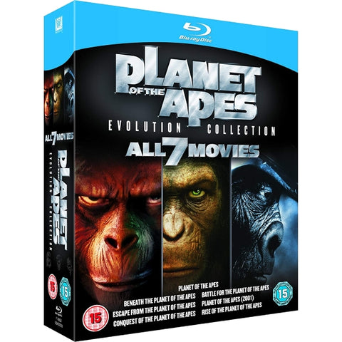 Planet of the Apes: Evolution Collection - All 7 Movies [Blu-Ray Box Set]