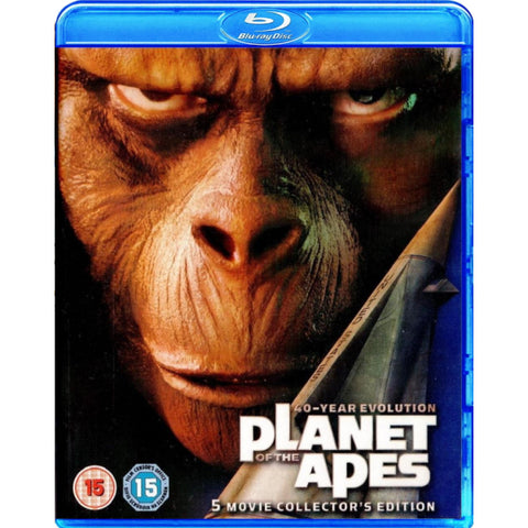 Planet of the Apes: 40-Year Evolution - 5 Movie Collector's Edition [Blu-Ray Box Set]