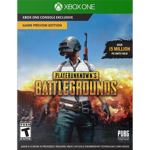 PlayerUnknown's Battlegrounds - Game Preview Edition [Xbox One, Download Card ONLY]