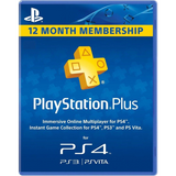 Sony PlayStation PLUS Live 1 Year / 12 Month Membership Card [PlayStation Accessory PSN]