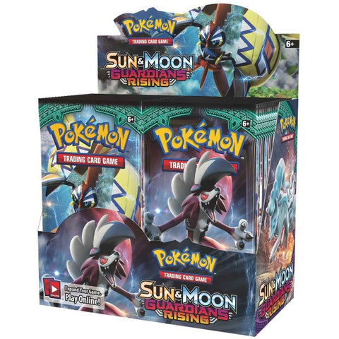 Pokemon TCG Sun & Moon - Guardians Rising Booster Box - 36 Packs [Card Game, 2 Players]