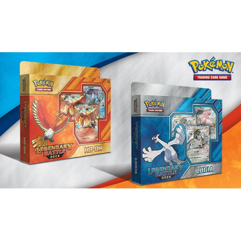 Pokemon TCG - Legendary Battle Decks: Ho-oh & Lugia Dual Pack [Card Game, 2 Players]