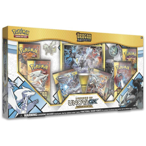Pokemon TCG: Dragon Majesty - Legends of Unova GX Super Premium Collection [Card Game, 2 Players]