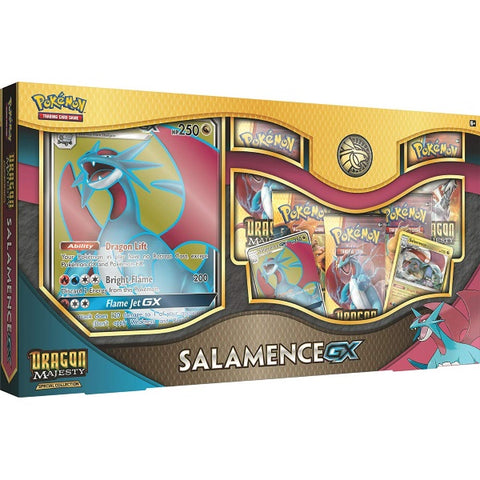 Pokemon TCG Dragon Majesty: Special Collection - Salamence GX [Card Game, 2 Players]
