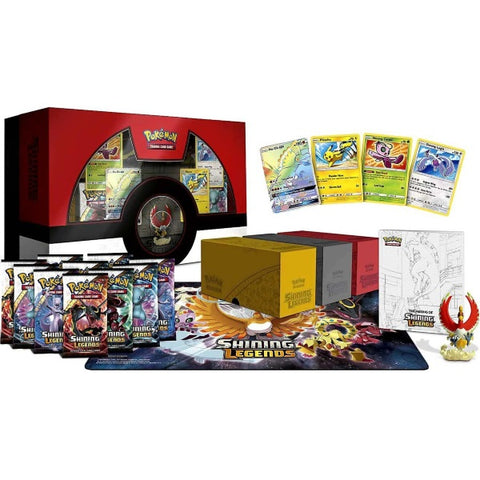 Pokemon TCG - Shining Legends Super Premium Ho-oh Collection Box [Card Game, 2 Players]