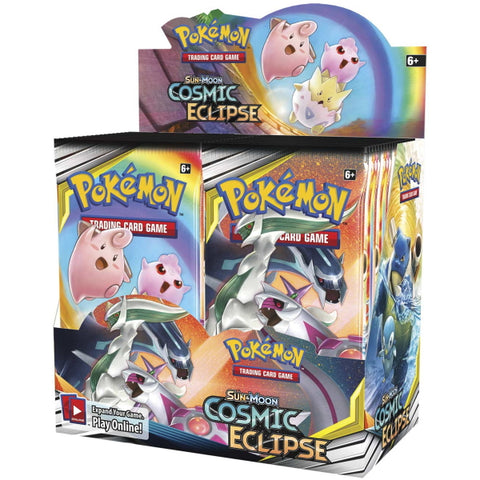 Pokemon TCG: Sun & Moon - Cosmic Eclipse Booster Box - 36 Packs [Card Game, 2 Players]