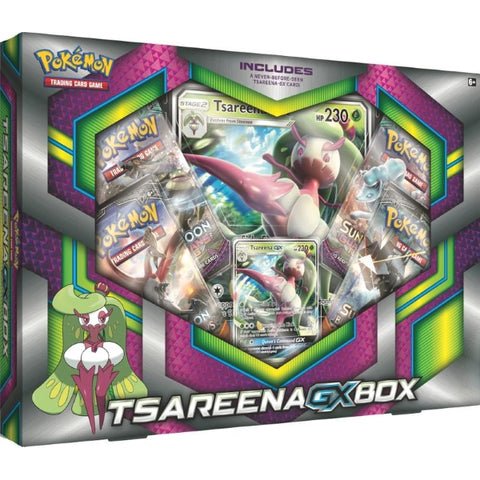 Pokemon TCG Tsareena-GX Box [Card Game, 2 Players]