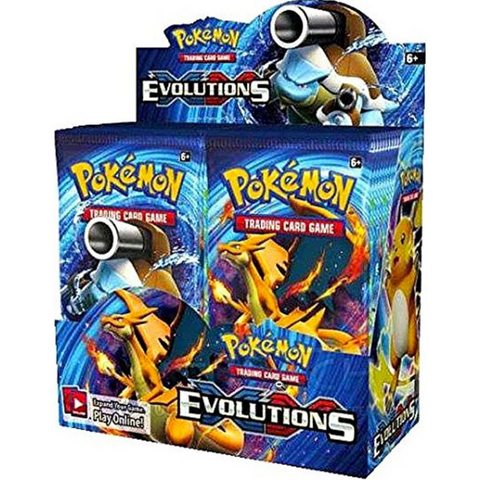Pokemon TCG XY - Evolutions Booster Box - 36 Packs [Card Game, 2 Players]