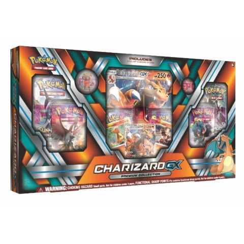 Pokemon TCG - Charizard-GX Premium Collection Box [Card Game, 2 Players]