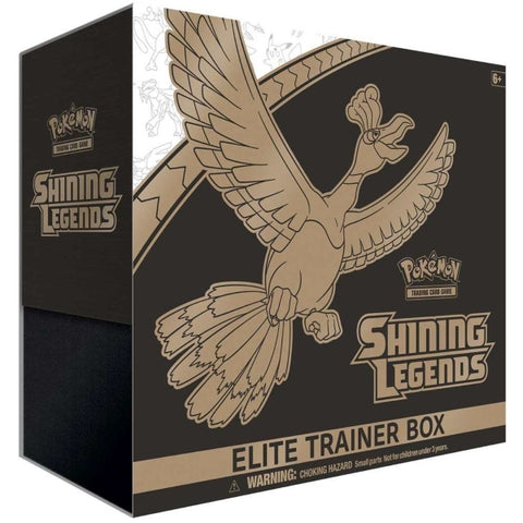 Pokemon TCG: Shining Legends - Elite Trainer Box [Card Game, 2 Players]