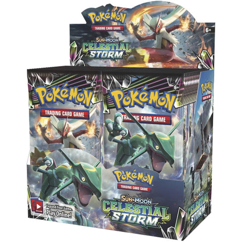 Pokemon TCG: Sun & Moon - Celestial Storm Booster Box - 36 Packs [Card Game, 2 Players]