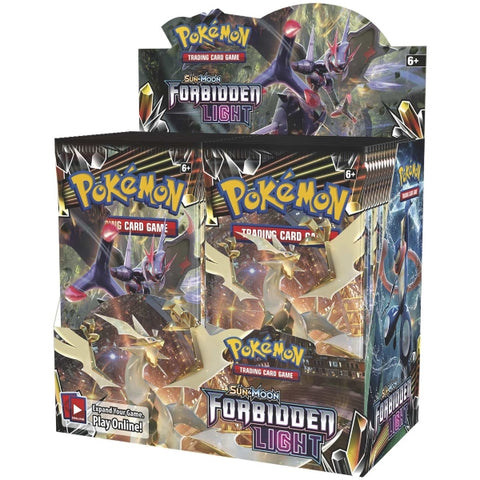 Pokemon TCG Sun & Moon - Forbidden Light Booster Box - 36 Packs [Card Game, 2 Players]