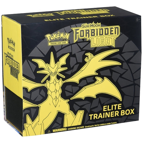 Pokemon TCG Sun & Moon - Forbidden Light Elite Trainer Box [Card Game, 2 Players]