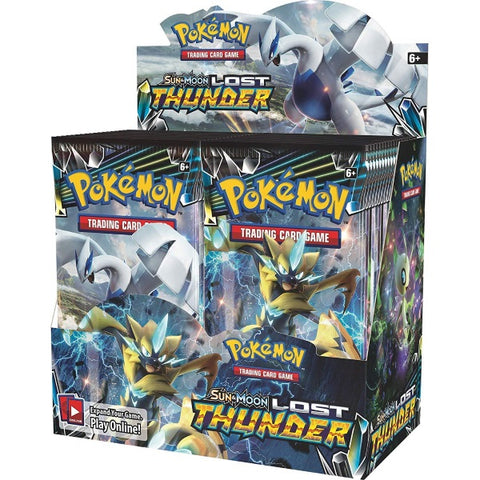 Pokemon TCG Sun & Moon - Lost Thunder Booster Box - 36 Packs [Card Game, 2 Players]