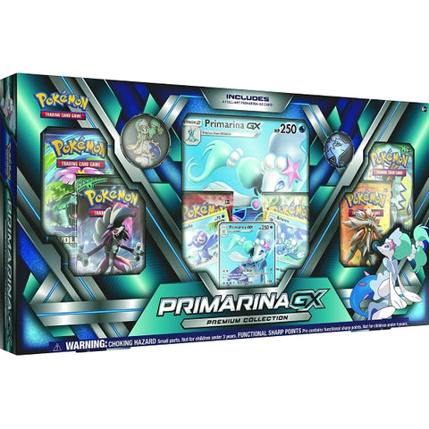 Pokemon TCG - Primarina-GX Premium Collection Box [Card Game, 2 Players]