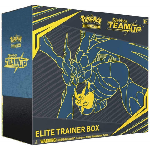 Pokemon TCG Sun & Moon - Team Up Elite Trainer Box [Card Game, 2 Players]