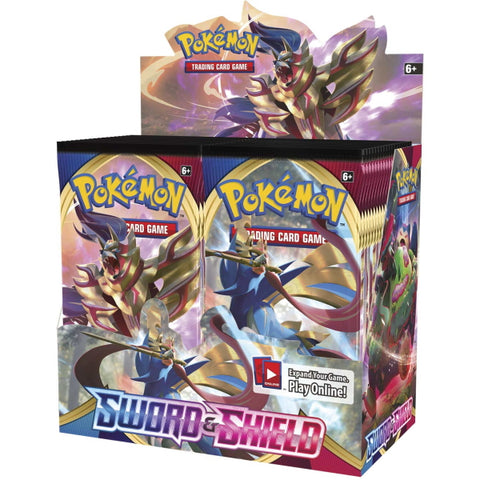 Pokemon TCG: Sword & Shield Booster Box - 36 Packs [Card Game, 2 Players]