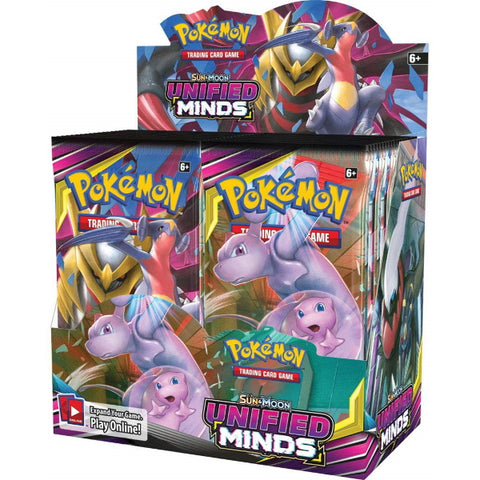Pokemon TCG: Sun & Moon - Unified Minds Booster Box - 36 Packs [Card Game, 2 Players]