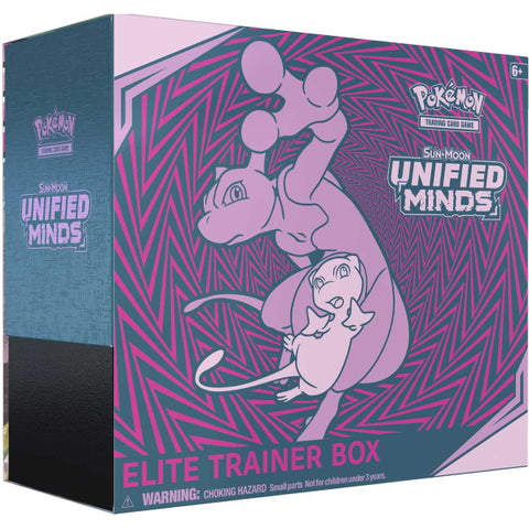 Pokemon TCG: Sun & Moon - Unified Minds Elite Trainer Box [Card Game, 2 Players]