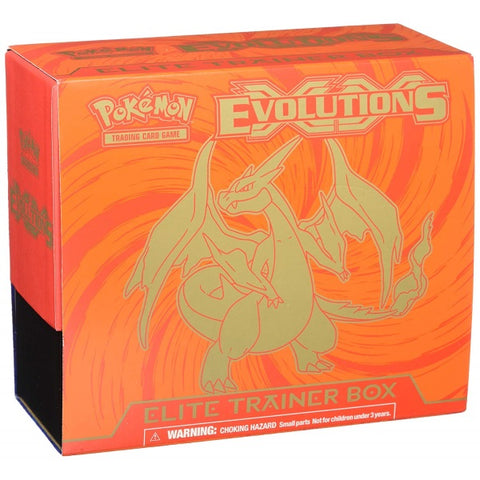 Pokemon TCG XY Evolutions - Mega Charizard Y Elite Trainer Box [Card Game, 2 Players]