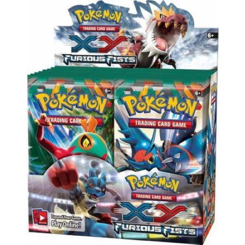 Pokemon TCG: XY - Furious Fists Booster Box - 36 Packs [Card Game, 2 Players]