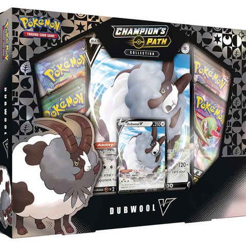 Pokemon TCG: Champion's Path Collection - Dubwool V [Card Game, 2 Players]