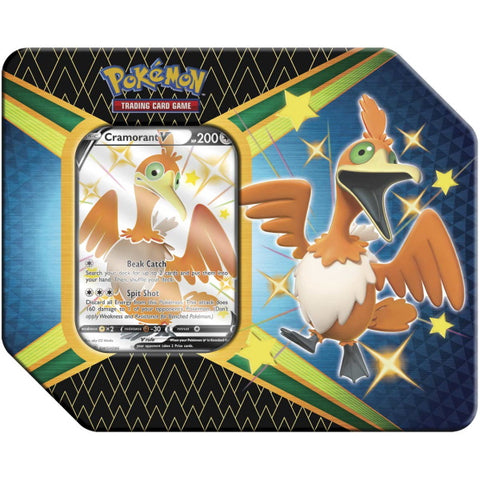 Pokemon TCG: Shining Fates Tin - Cramorant V [Card Game, 2 Players]