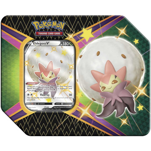 Pokemon TCG: Shining Fates Tin - Eldegoss V [Card Game, 2 Players]