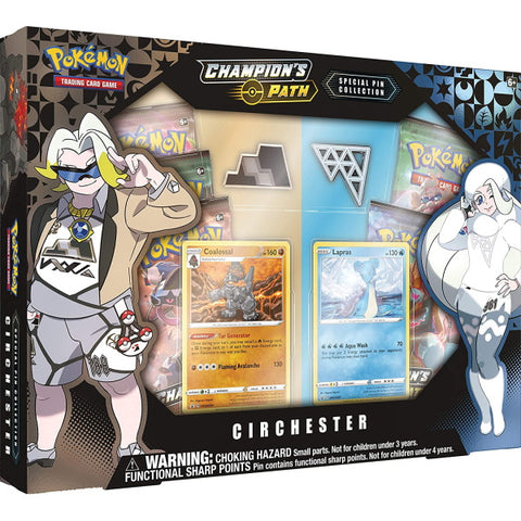 Pokemon TCG Champion's Path: Special Pin Collection - Circhester [Card Game, 2 Players]