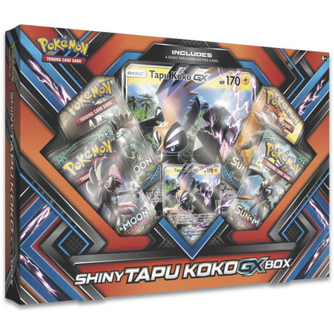 Pokemon TCG: : Shiny Tapu Koko-GX Box [Card Game, 2 Players]