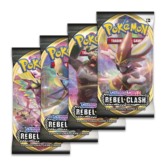 Pokemon TCG: Sword & Shield - Rebel Clash Booster Box - 36 Packs [Card Game, 2 Players]