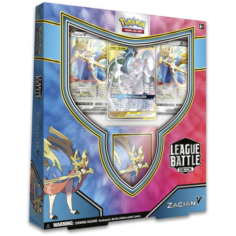 Pokemon TCG: Zacian V League Battle Deck [Card Game, 2 Players]