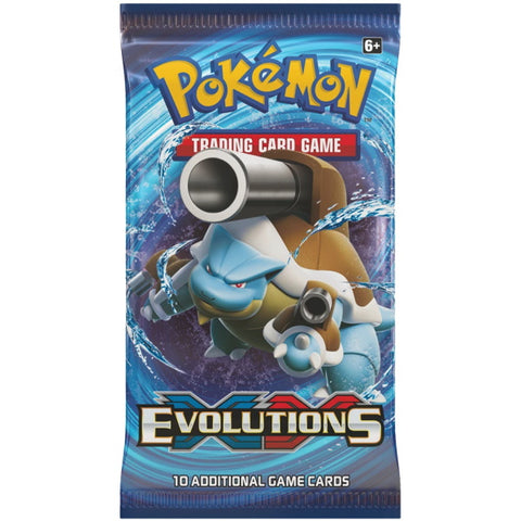 Pokemon TCG: XY Evolutions Booster Pack [Card Game, 2 Players]