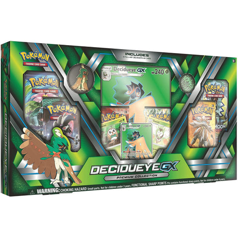 Pokemon TCG: Sun & Moon Guardians Rising - Decidueye GX Premium Collection Box [Card Game, 2 Players]