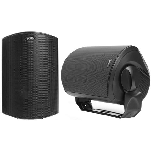 Polk Audio Atrium 6 All-Weather Outdoor Speakers - Black [Electronics]