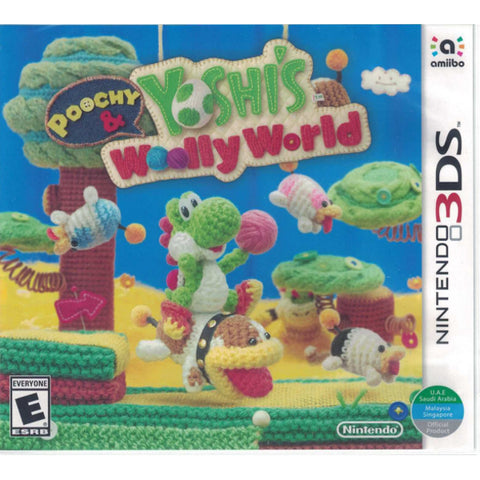 Poochy and Yoshi's Woolly World [Nintendo 3DS]
