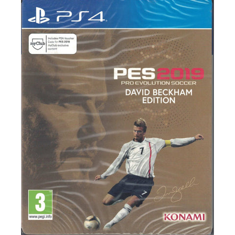 PES Pro Evolution Soccer 2019 - David Beckham Edition SteelBook [PlayStation 4]