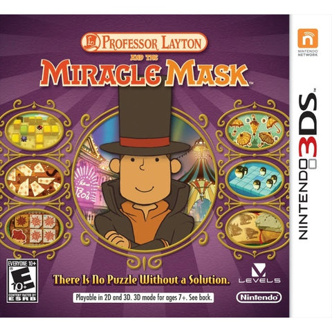 Professor Layton and the Miracle Mask [Nintendo 3DS]