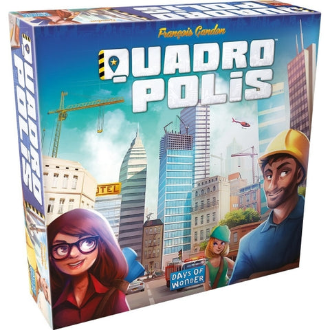 Quadroplis [Board Game, 2-4 Players]