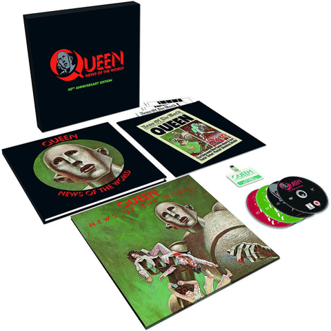 Queen - News Of The World 40th Anniversary Edition Deluxe Box [[Audio Vinyl + CD]]