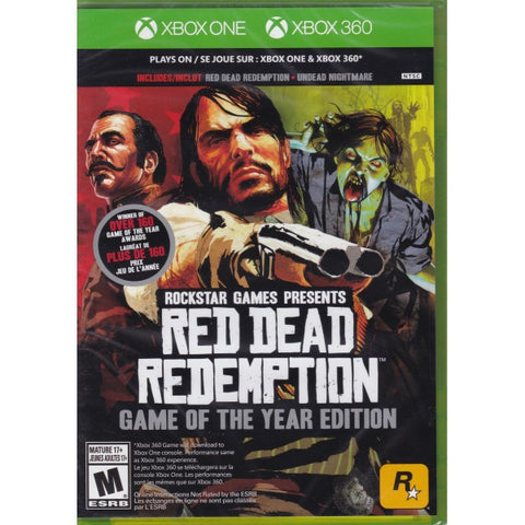 Red Dead Redemption: Game of The Year Edition [Xbox 360]