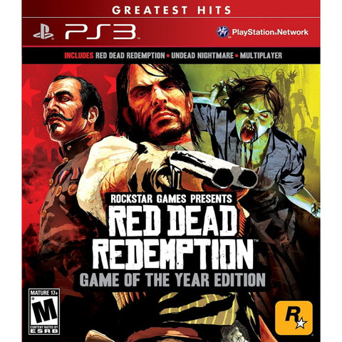 Red Dead Redemption - Game of the Year Edition [PlayStation 3]