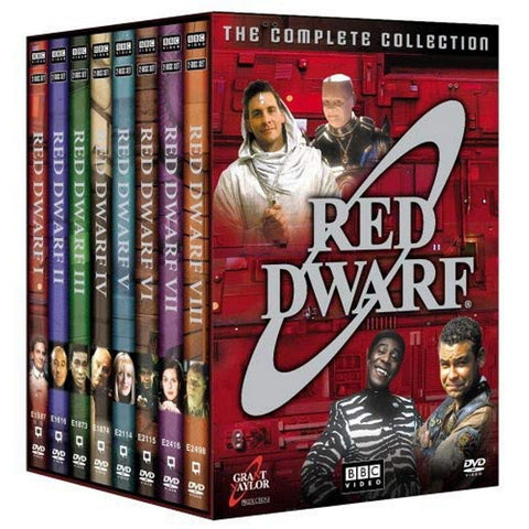 Red Dwarf: The Complete Collection - Seasons 1-8 [DVD Box Set]