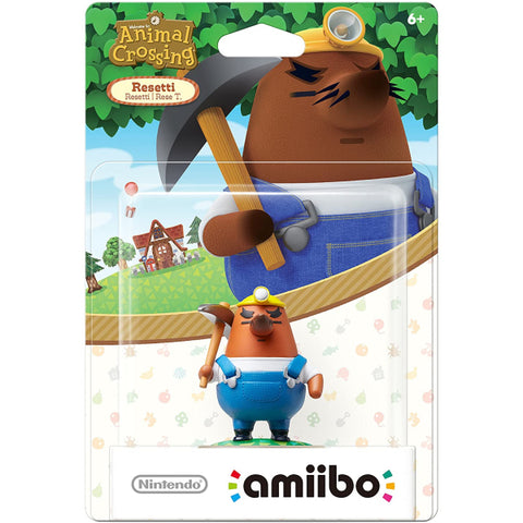 Resetti Amiibo - Animal Crossing Series [Nintendo Accessory]