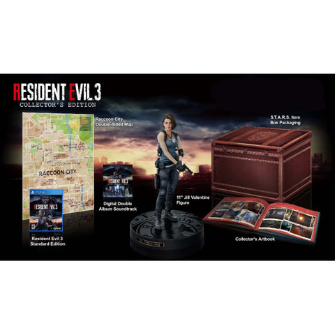 Resident Evil 3 - Collector's Edition [PlayStation 4]