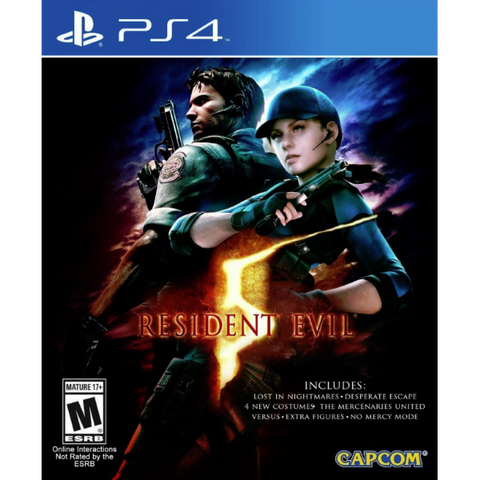 Resident Evil 5 HD [PlayStation 4]
