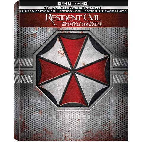 Resident Evil: The Complete Collection - 4K Limited Edition [Blu-ray + 4K UHD + Digital]