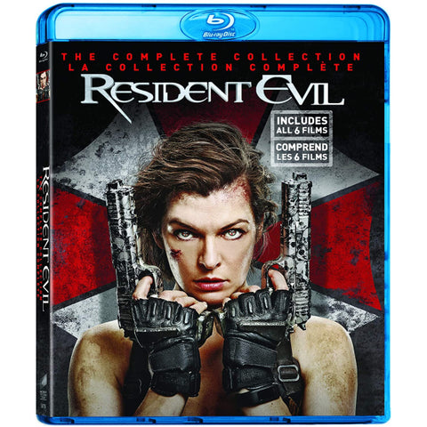 Resident Evil: The Complete Collection [Blu-Ray Box Set]