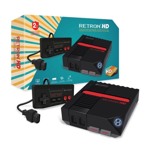 Hyperkin RetroN 1 HD Gaming Console for NES - Black [Retro System]